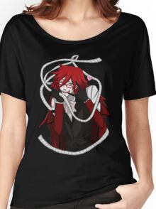Love To Death - Grell Sutcliff - Black Butler Fan Art Women's Relaxed Fit T-Shirt