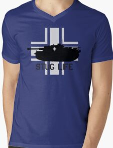 Stug Life Mens V-Neck T-Shirt