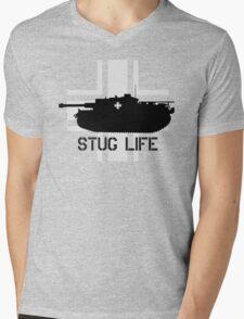 Stug Life Mens V-Neck T-Shirt