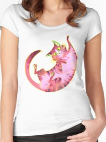 Psychedelicat! Women's Fitted Scoop T-Shirt