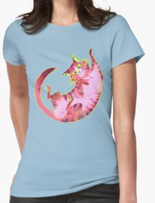 Psychedelicat! Womens Fitted T-Shirt