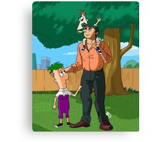 Cousin Perry Canvas Print