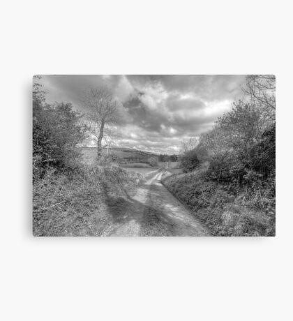 Scenic Burren Road Canvas Print