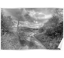 Scenic Burren Road Poster