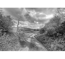 Scenic Burren Road Photographic Print