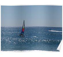 Sailing fun in the sun Poster