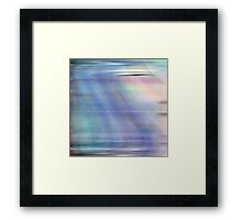 Moving Stillness #4 Framed Print