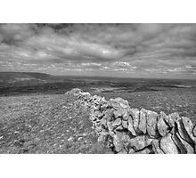 Scenic Burren landscape Photographic Print