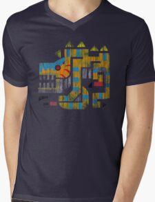Monster Hunter - Tigrex Logo Mens V-Neck T-Shirt