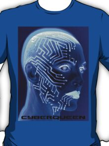 Iceborg Blue by Cyberqueen T-Shirt