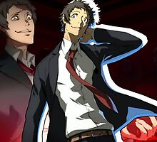Adachi Poster by Affluxion