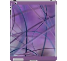 Blowing in the wind - abstract 2 iPad Case/Skin