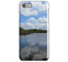 Reflections in the Burren, Mullaghmore iPhone Case/Skin