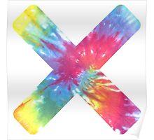 Tie Dye X Poster