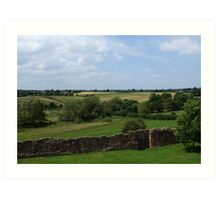Rural England Art Print