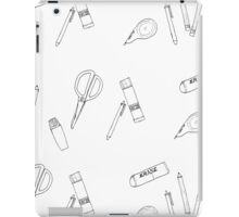 STATIONERY GRID iPad Case/Skin
