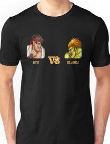 RYU VS BLANKA - FIGHT! Unisex T-Shirt