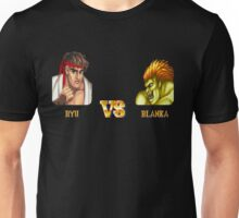 RYU VS BLANKA - FIGHT! Unisex T-Shirt