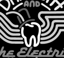 Dr.Teeth and the Electric Mayhem - MonoChrome Logo Sticker