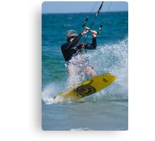 Kite Surfing! Canvas Print