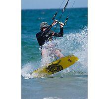Kite Surfing! Photographic Print