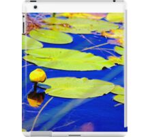 Even water celebrates with flowers iPad Case/Skin