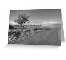 Mullaghmore mountain view Greeting Card