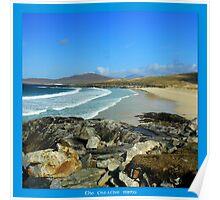Harris beach  Poster