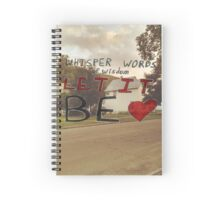 Let It Be Spiral Notebook