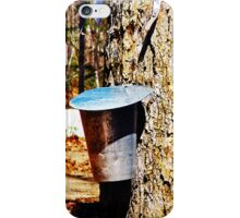 Maple Syrup Time iPhone Case/Skin
