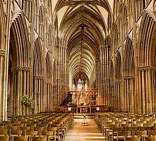 Lichfield Cathedral, Staffordshire, England by Jonathan Fletcher