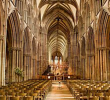Lichfield Cathedral, Staffordshire, England by Fletch147