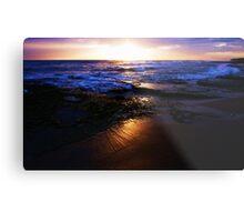 SUNSET AT 13TH BEACH Metal Print