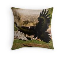 '...Upon wings like eagles.' Throw Pillow