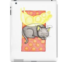 Black and Yellow Fairy Cat iPad Case/Skin