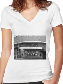 Buenos Aires - Luna Park Women's Fitted V-Neck T-Shirt