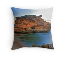 Red Rock HDR Throw Pillow