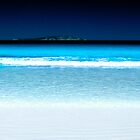 Turquoise Shoreline by Paul Mayall