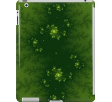 Green Fractal iPad Case/Skin