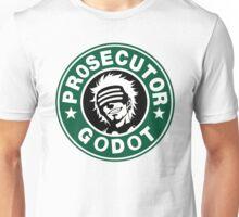 Prosecutor Godot Coffee - Phoenix Wright Trials and Tribulations Unisex T-Shirt