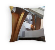 Converge, Disney Concert Hall, LA, USA Throw Pillow