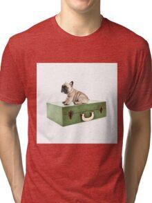 Retro Traveller Tri-blend T-Shirt
