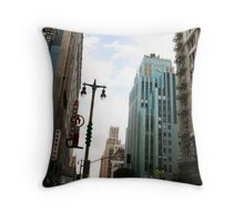 Hard-boiled Art Deco Throw Pillow