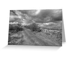 Burren Road Greeting Card