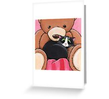 Big Ted Greeting Card