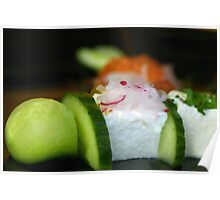 Cucumber and Yoghurt-Lemon-Mousse  Poster
