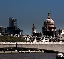 Saint Pauls by larry flewers