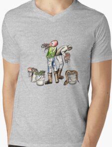 Blood Deep Mens V-Neck T-Shirt