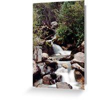 Leadville Waterfall Greeting Card