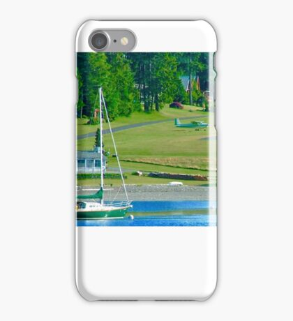 Vancouver Island Airstrip iPhone Case/Skin